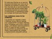Hotel para Plantas