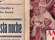 """ÁMAME ESTA NOCHE """"Love Tonight"""", EE.UU., 1932)"""