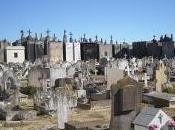 distintas fotos Cementerio Municipal Azul