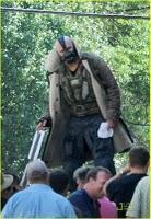 Fotos de Tom Hardy como Bane en el rodaje de 'The Dark Knight Rises'