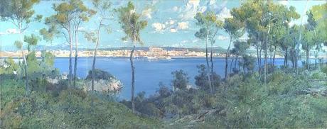 El Prado deposita en Palma de Mallorca un paisaje de Eliseo Meifrén