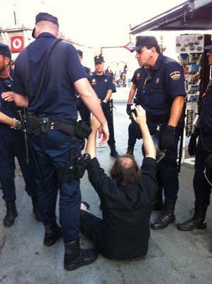 Sol tomada, democracia secuestrada