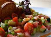 Ensalada gazpacho agridulce