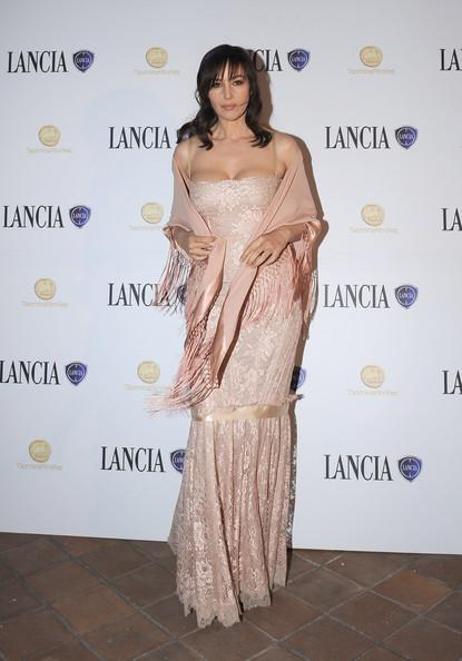 Monica Bellucci Monica Bellucci attend the Kung Fu Panda 2 Cocktail Party hosted by Lancia Cafe during the 57th Taormina Film Fest on June 11, 2011 in Taormina, Italy.