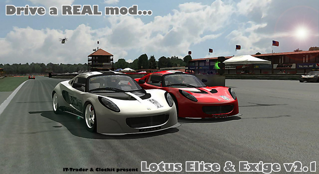 The Best Of Automotive: Lotus Elise & Exige rFactor v2 1 by IT-Trader