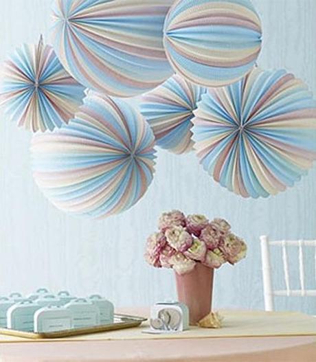 farolillos de papel – paper lanterns