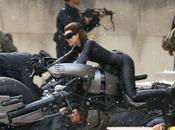 fotos Anne Hathaway como Catwoman Caballero Oscuro: leyenda renace'