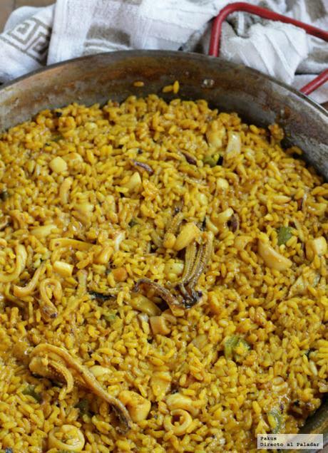 Paellas y otros arroces caldosos, melosos y secos, mis mejores recetas de arroces en paella