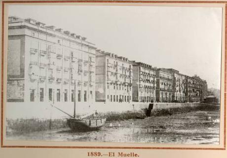 El Muelle en 1889