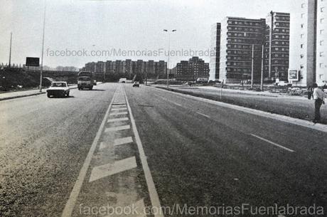Avenida de España recién construida en 1983