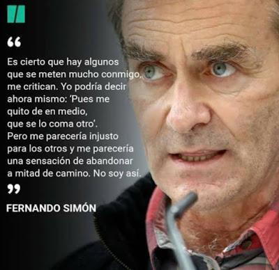 Fernando Simón, a la caza de brujas.
