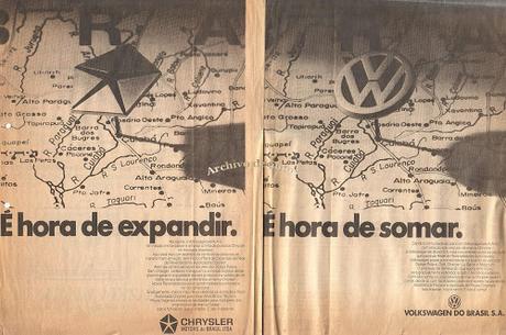 La compra de Chrysler Fevre Argentina por parte de Volkswagenwerk