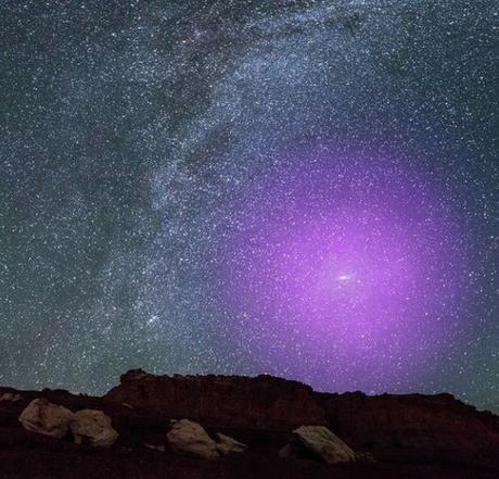 Hace diez mil millones de años, otra galaxia se estrelló contra la Vía Láctea