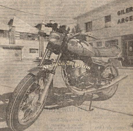 Gilera 250 Hiro Strada del año 1982