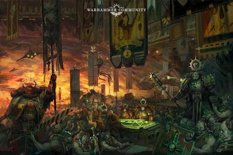 Warhammer Community: Resumen con extras