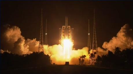 Lanzamiento de Chang'e 5, la misión china de retorno de muestras lunares