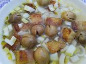 Lavapuertas (sopa popular malagueña teba)