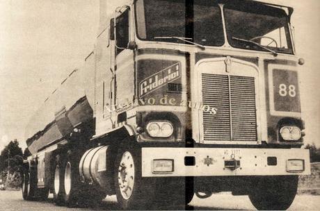 Kenworth K-100 importado a Argentina