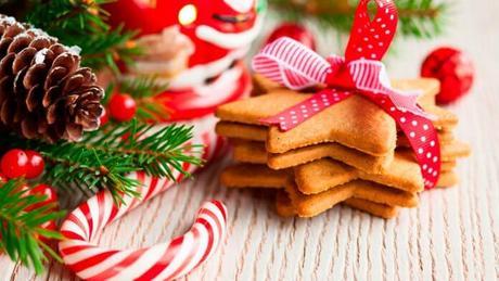 Practicar con los peques para elaborar dulces navideños