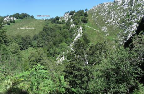 Orlé-Piedrafita-Incós-Saolla-Muniellu-Melordaña