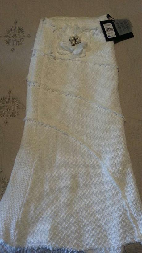 Falda Midi Blanca Cortefiel