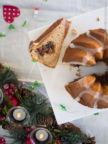 Tunnel of Mincemeat Bundt Cake
