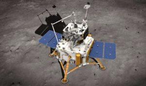 Chang'e 5 aterriza en la Luna