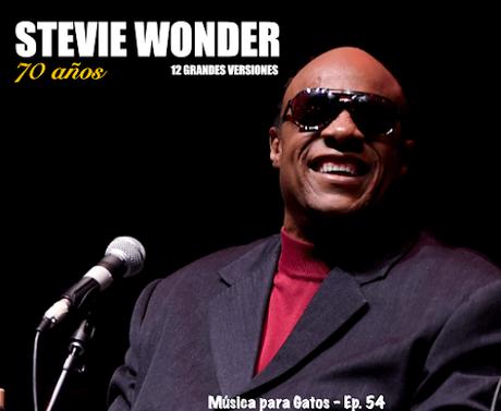 Música para Gatos - Ep. 54 - 70 años de Stevie Wonder.