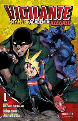 Reseña de manga: My hero academia: Vigilante (tomo 1)