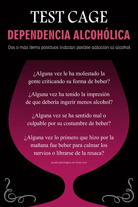 Test CAGE alcoholismo