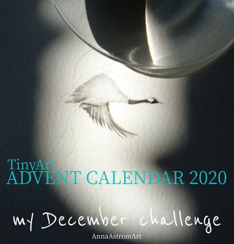 …mi calendario de adviento TinyArt 2020: