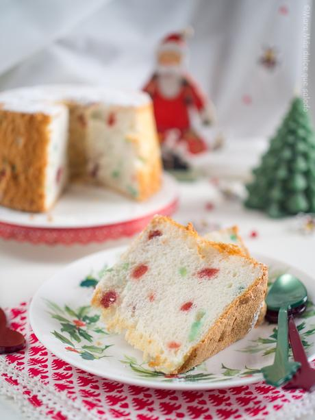 Christmas Angel Food Cake