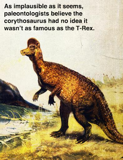 The Corythosaurus (Fake Science)