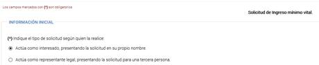 Modo de adjuntar documentación a la solicitud del Ingreso Mínimo Vital realizada con certificado electrónico o Cl@ve