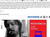 Resistencia: novela viaje alucinado frontera entre Argentina Paraguay