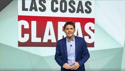 """Cintora resucita TVE con """"Las cosas claras""""."""
