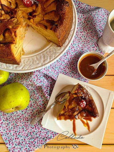 Tarta de Manzana y Crème Brûlée