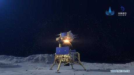 Chang'e 5 despega desde la Luna