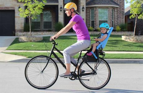 Legalidad sillas para bicicletas en España