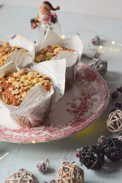 Muffins Veganos de Tarta de Manzana