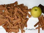 Galletas manzana canela para perros