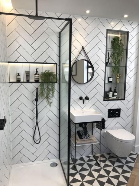 Decora tu casa mediante la luz -Baño- El blog de laucreativa