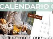 Curso online calendario Photoshop