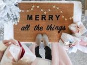 para crear felpudos Navidad
