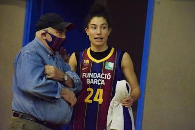 Galería de emociones del Barça CBS-CB Andratx (Liga Femenina 2)