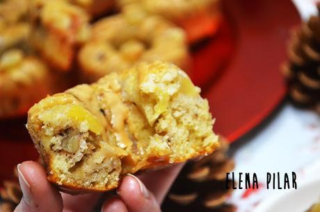 Donuts de peras y jengibre (sin azúcar)