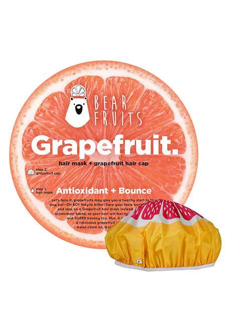 Grapefruit Hair Mask + Cap de Bear Fruits