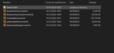 Mapas descargables de nuestras réplicas de España en Minecraft RTX.
