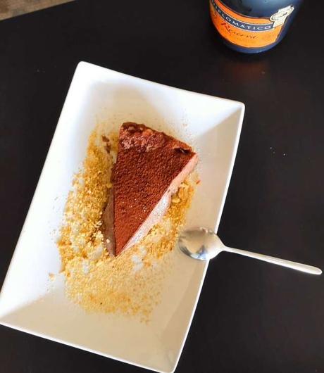 Tarta de chocolate fundente Mannix