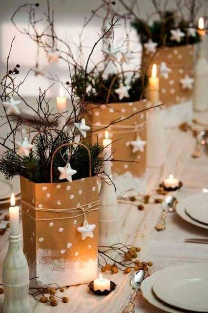 Una mesa de Nochebuena llena de luz y esperanza